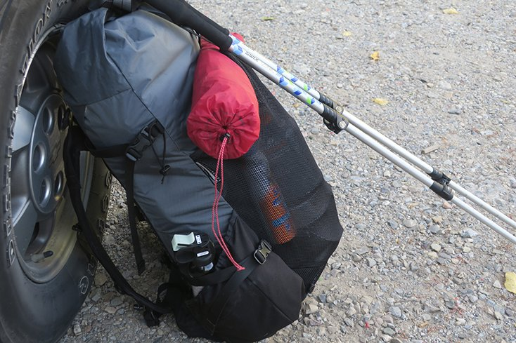 Backpacking Backpack Settup