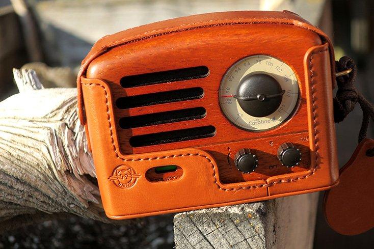 Muzen Classic Wooden Speaker Rosewood Duffle