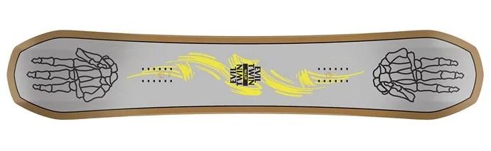 2020 Batellion Evil Twin Snowboard