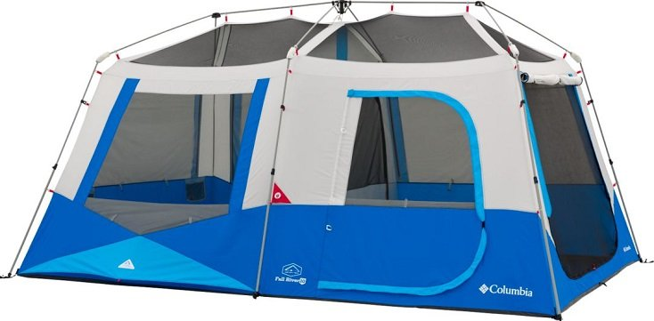 Columbia Fall River Instant 10-Person Family Camping Tent