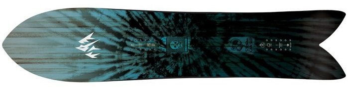 Jones Powder Snowboard Surfboard Shape