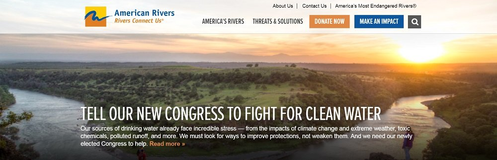 American Rivers Charity
