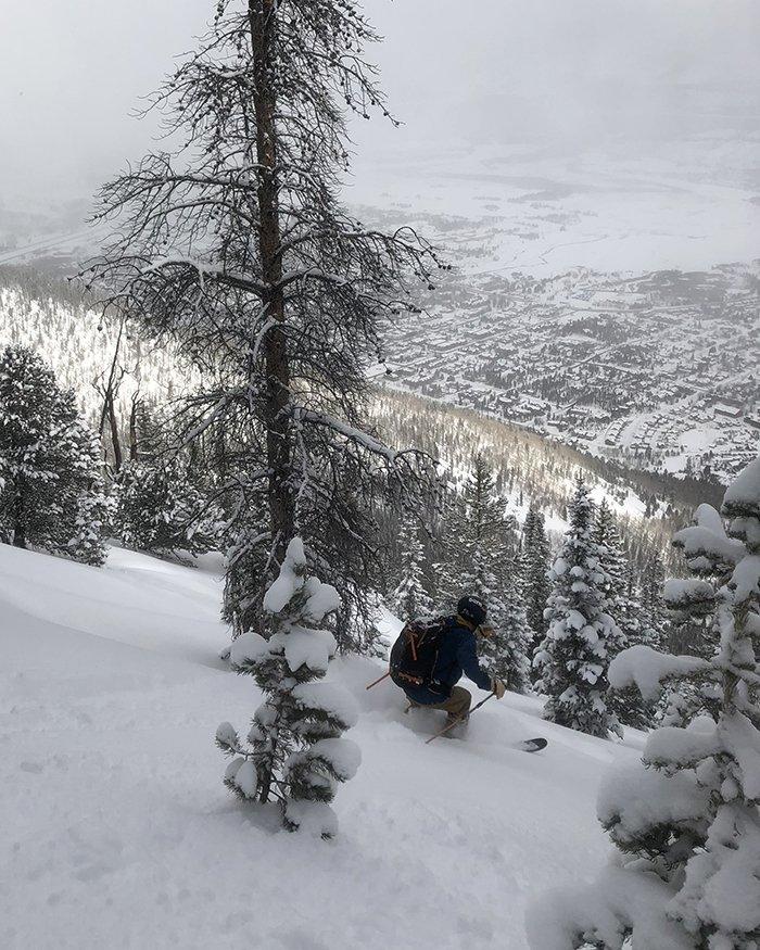 Powder Skiing in Colorado