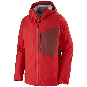 Patagonia Snowboard Jacket Red Color