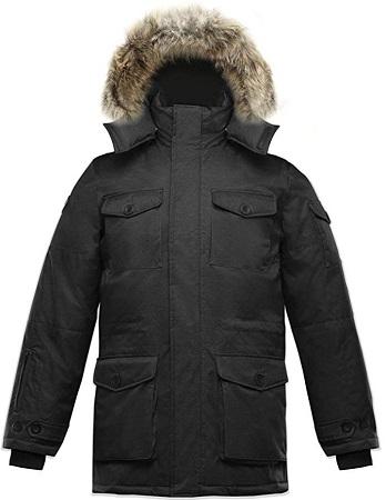 Coyote Fur Down Jacket