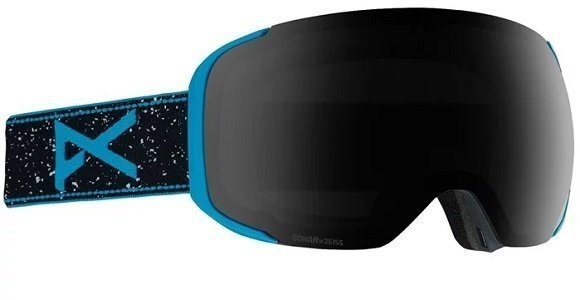 Black and Blue Ski Goggles from Anon