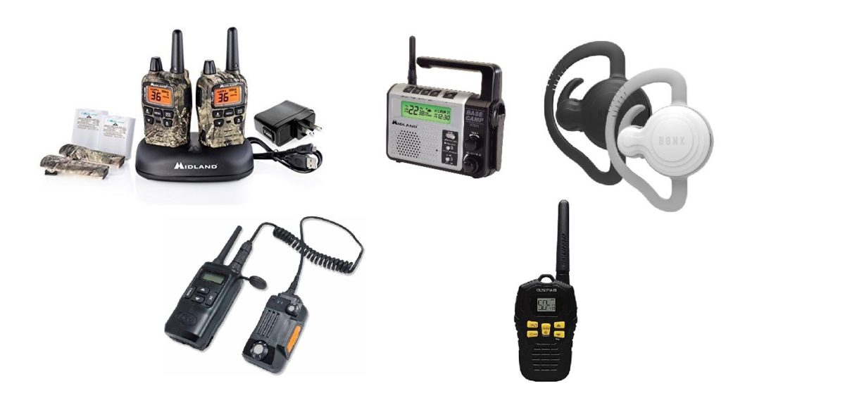 Top 5 Walkie Talkies for Camping, Hiking and Hunting for 2021