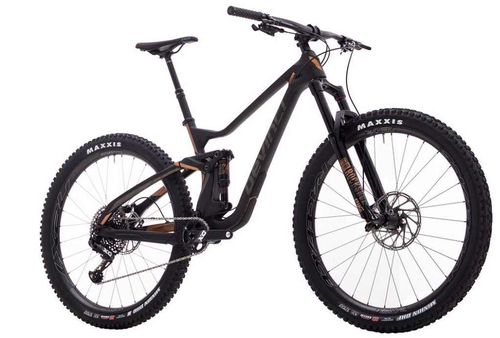 Decinci MTB Troy Carbon 29 X01 Eagle Complete Mountain Bike