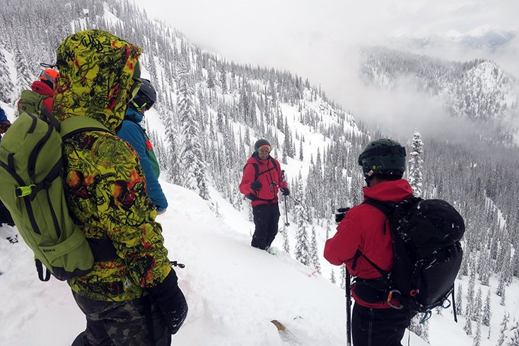 Valhalla Snowcat Skiing in BC