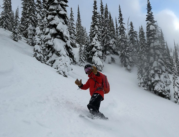 Snowboarding Valhalla Powdercats