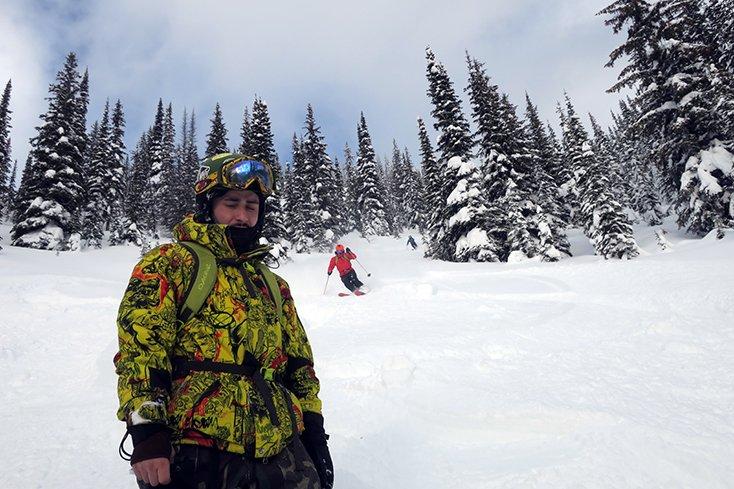 Group Skiing at Valhalla Powdercats
