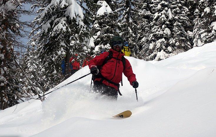 Ski Guide at Valhalla Powdercats