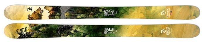 Size Shown: 171 cm Icelantic Nomad 105 Skis 2020