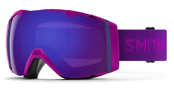 Purple Ski Goggles