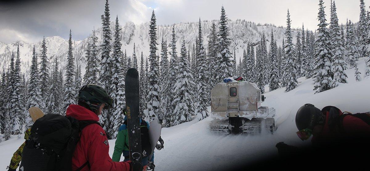 Valhalla Powdercats Snowcats Skiing