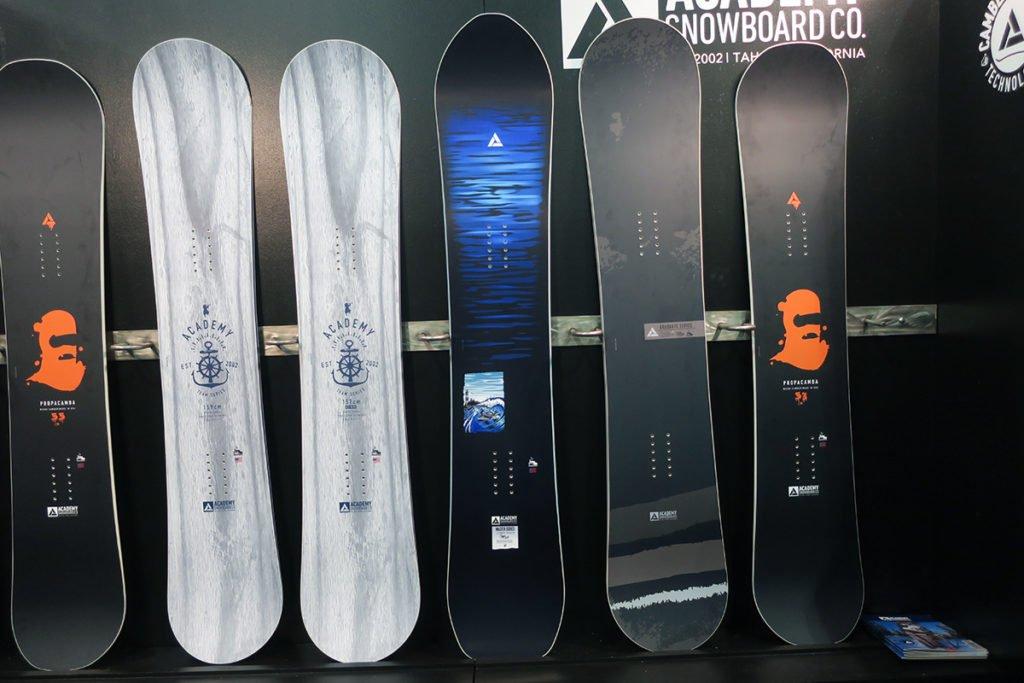 2020 Academy Snowboards