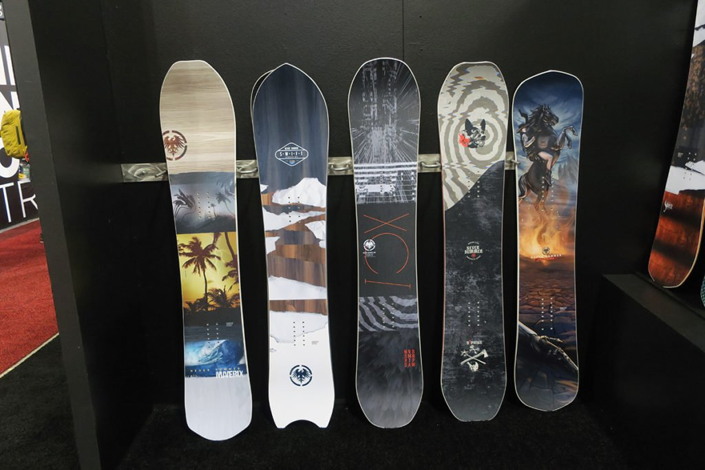 2019-2020 Never Summer Snowboards