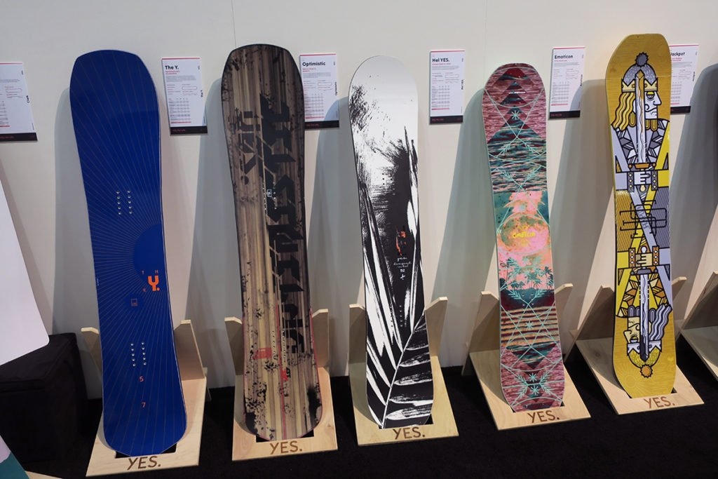 Yes Snowboards 2020