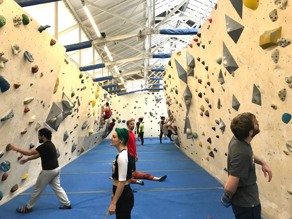 London, UK Indoor Climbing Gym