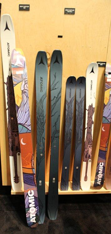 Atomic Bent Cheltler Skis