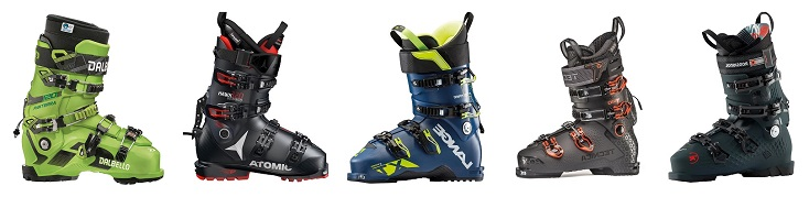 Ski Boots with Walk Mode