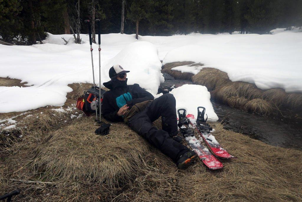 Winter Camping Splitboarding