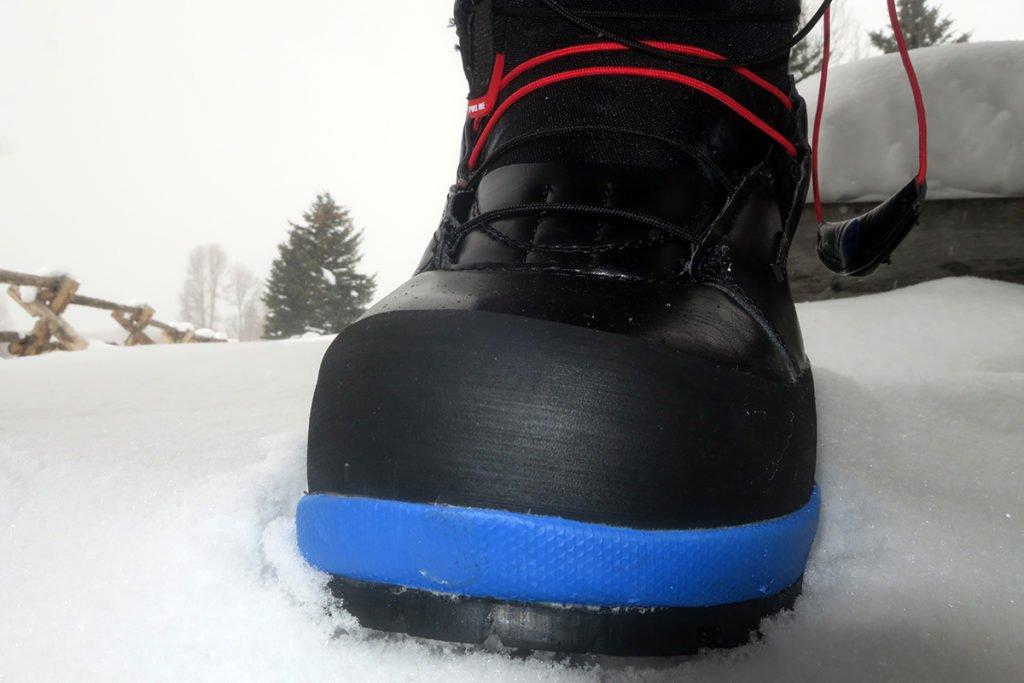 Rubber Bumper Snowboard Boots