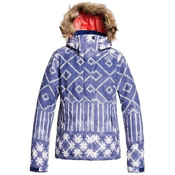 Roxy Fur Lined Women's Snowbaord Jacket