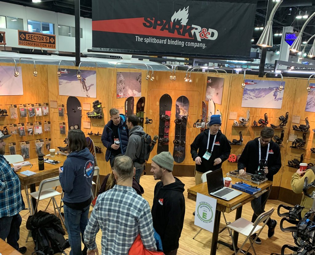 Tradeshow Booth Snowboarding