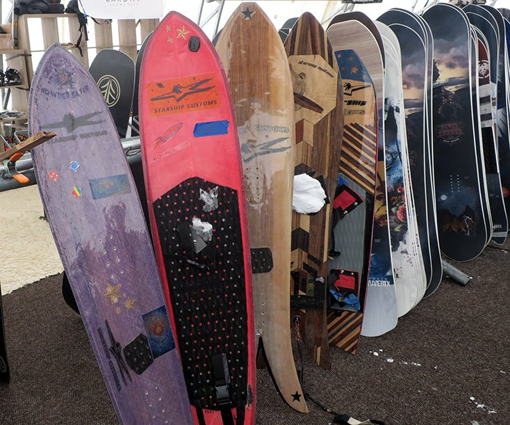 Starship Customs Snowboards