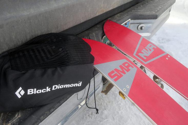 Black Diamond Mohair Nylon Mix GlideLite Splitboard Skins Review