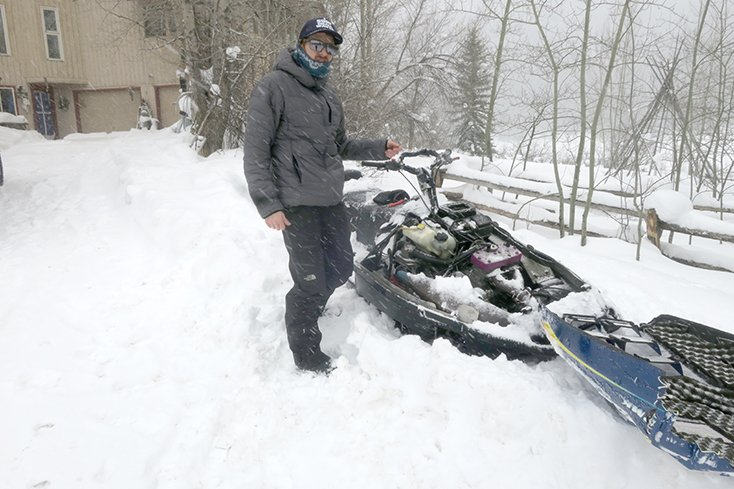 1997 RMK Snowmobile