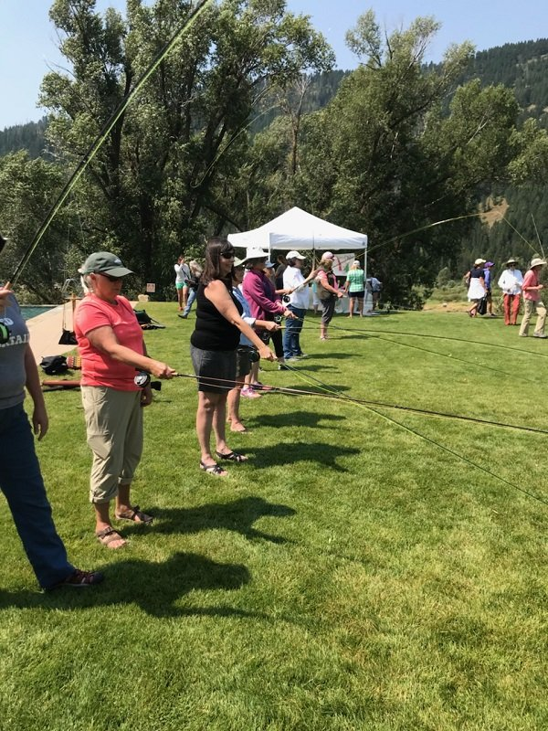 Women's Free Fly Fishing Day