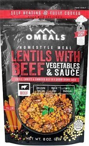 OMeals Beef and Lentils