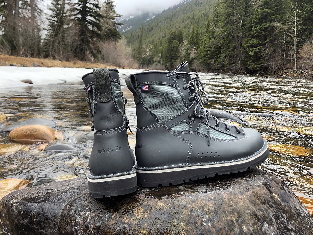 Patagonia Teams up With Danner For a Line of Hand Made Wading Boots