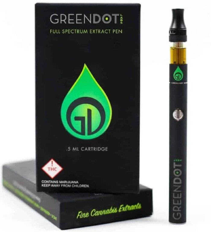greendot vape pen