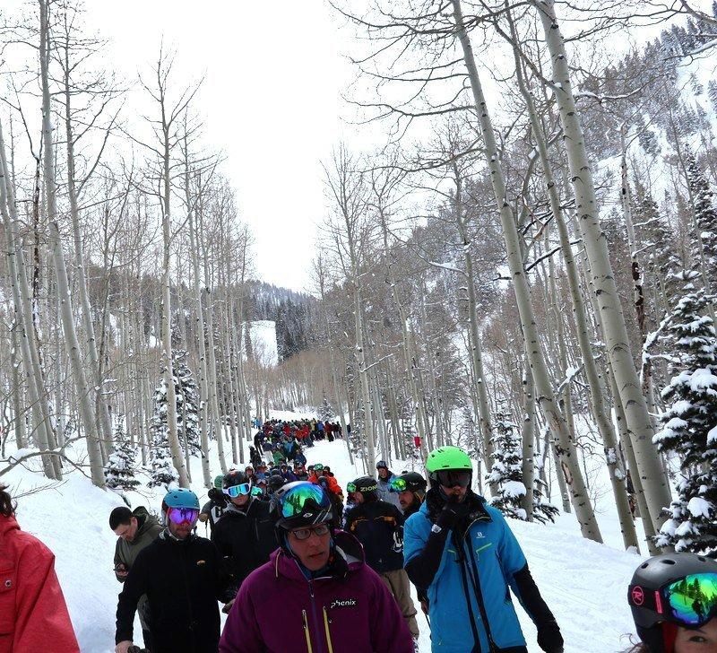 Ski Lift Lines