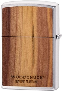 Wood Zippo Lighter