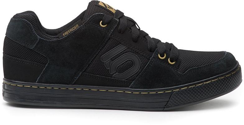 five ten freerider mountain bike shoe in black and khaki