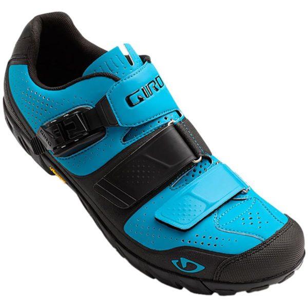 giro terraduro mountain bike shoe in blue