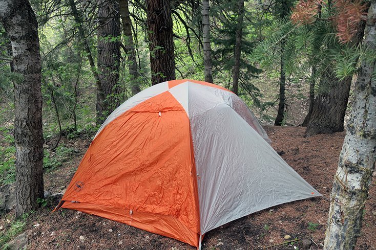 Tent with Rainfly from Big Agnes