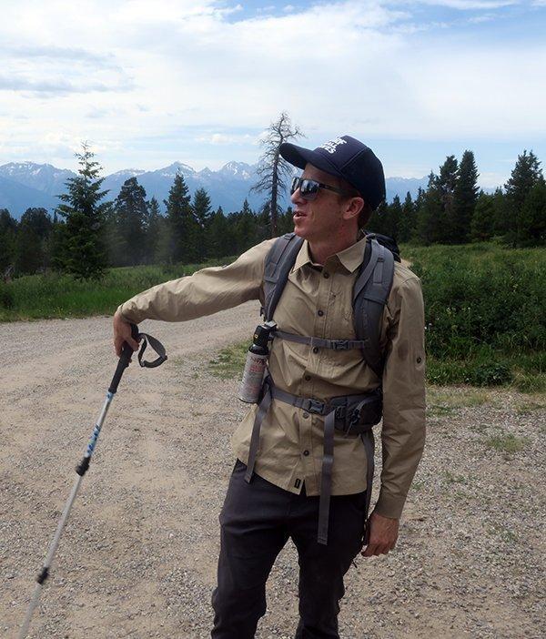 Hiking Goodwin Lake Wyoming