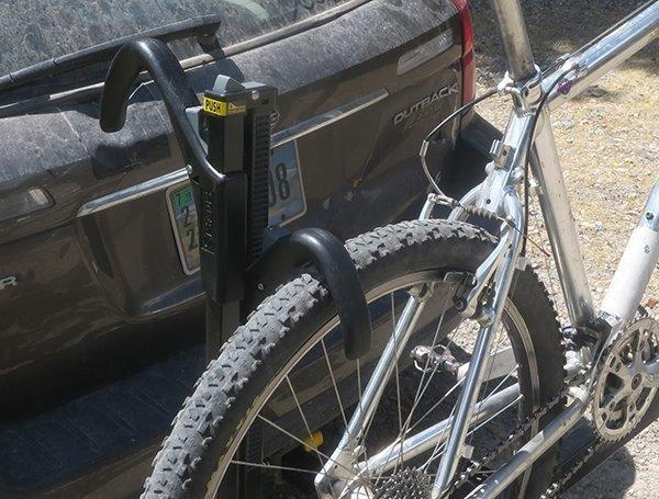 Saris Push Button Bike Rack