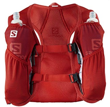 Running Vest Red Color from Salomon
