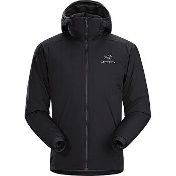 Arc'teryx Atom LT Hooded Black Men's Jacket for Winter