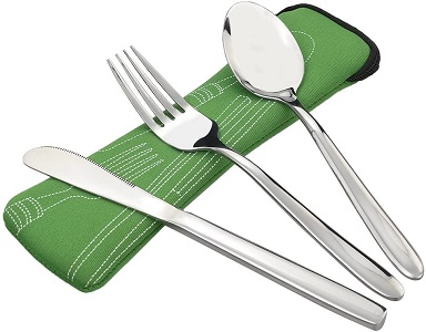Fork and Spoon for Camping