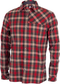 Men's Red Flannel from Club Ride Clothing