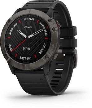 Garmin fenix 6X Sapphire Multisport GPS Watch