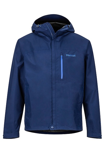 Marmot Mens Blue Rain Jacket