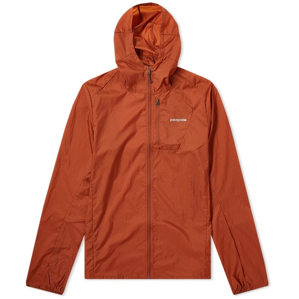 Patagonia Rain Jacket in Orange